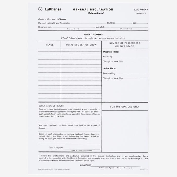General-Declaration-Form