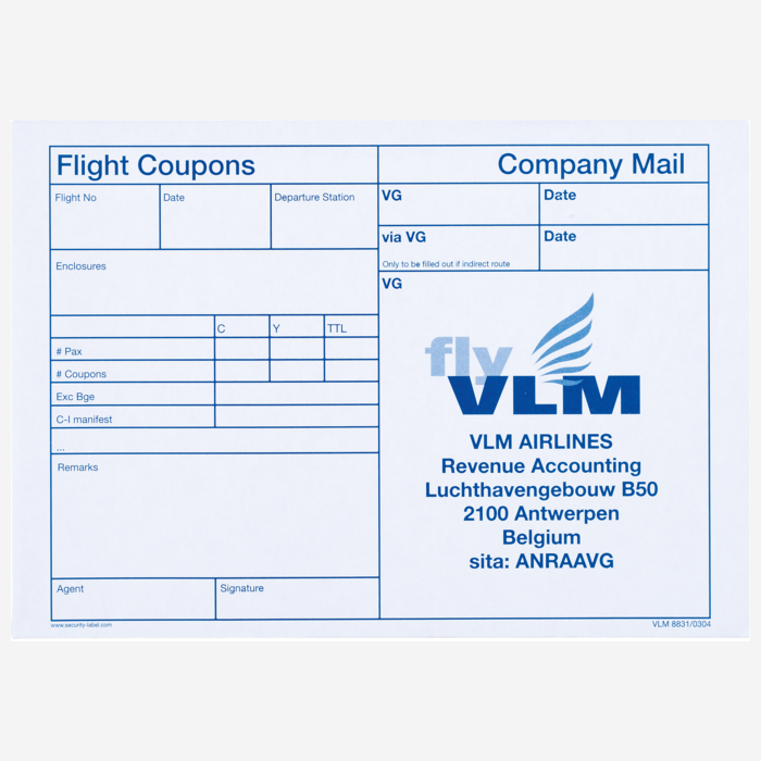 Flight-Coupon-Envelope